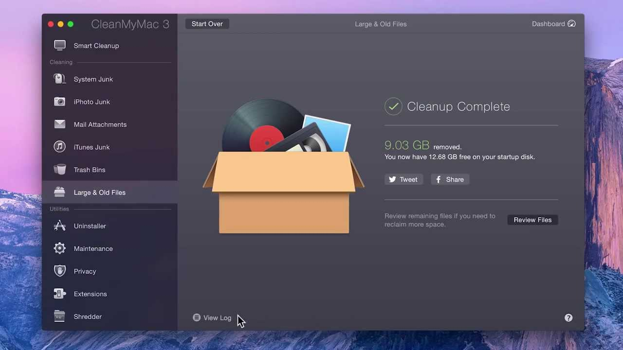 CleanMyMac 3 as the Best App for File and Storage Management