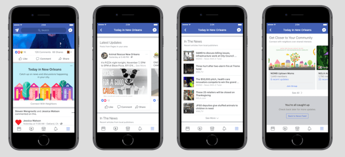 New Feature from Facebook to Get Latest News